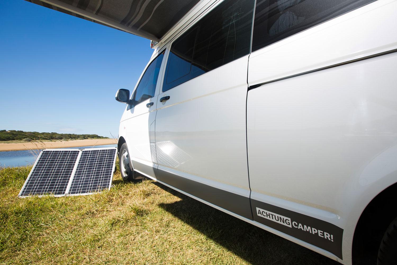 120 Watt Portable Solar Panels Achtung Camper