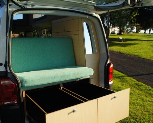 New VW T6 LWB Campervan - Achtung Camper
