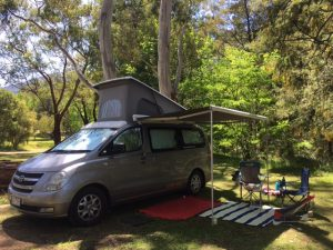 Badger's Creek campground