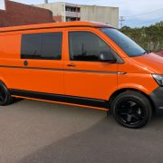 VW T6 LWB Van Suspenstion