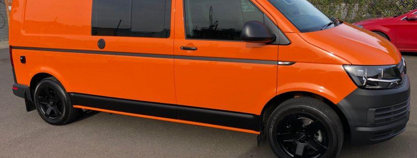 VW T6 LWB Van Suspenstion
