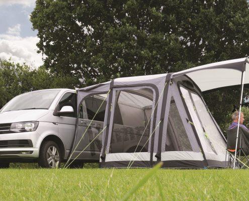 Drive away tent