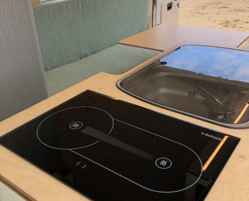 VW Crafter Motorhome cooker
