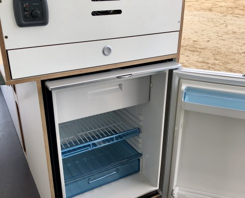 VW Crafter Motorhome fridge