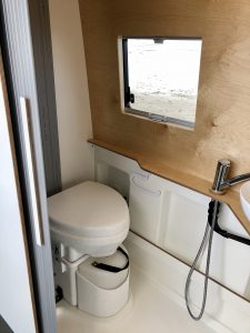 VW Crafter Motorhome toilet